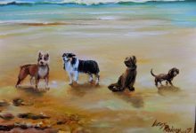 """""""Summer Dogs"""" For Sale on eBay now"""