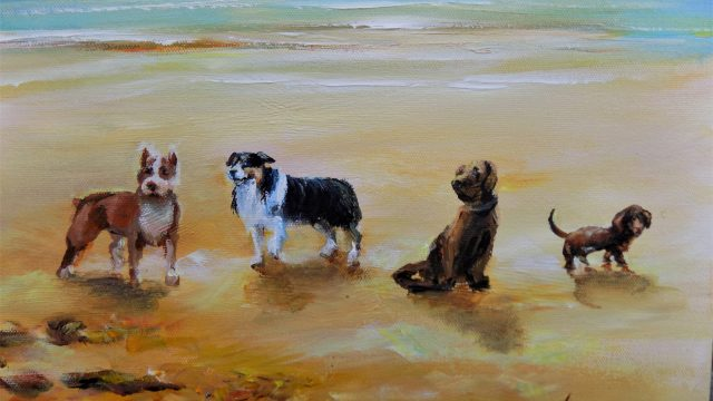 """Summer Dogs"" For Sale on eBay now"