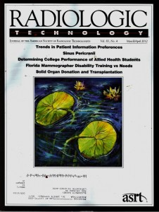 March April 2012  ASRT Cover Art