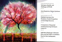 "ASRT Cover Art for SPRING ""Renal Cherry Tree"""