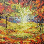 enchanted autumn light 36x48x1.5 taf exhibit 2010