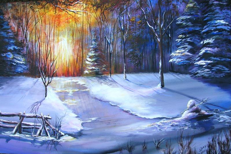 End of a Winter's Da...