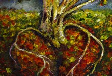 Cardiac Roots. More ASRT Art under Artwork Menu at the Top of this Home Page