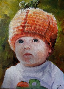 Grandma and Grandpa's Lil Pumpkin 9x12 2013 (920x1280)