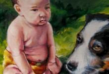 Jericho and Mordicai. A Boy and His Dog