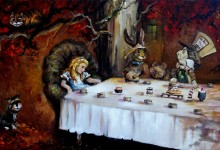 ALICE in WONDERLAND a Birthday Party Gift sold