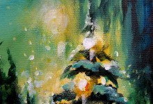 """Christmas Eve Angel""  sold"