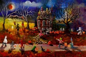 A Jolly Halloween Beneath the Blood Moon 24x36 2015 (1024x679)