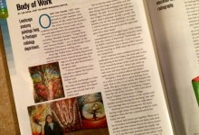 ASRT Radiology Scanner Magazine Article celebrating my Art in the Pentagon and more 2016