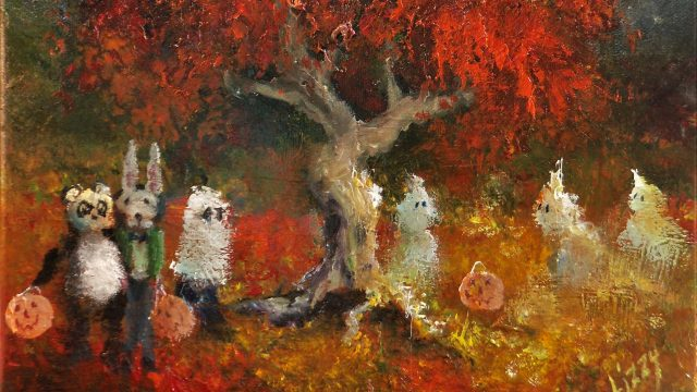 An Enchanted Eve. SOLD