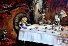 Alice in Wonderlands Tea Party with your favorite pet portrait