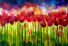 """Burst of Spring"" sold"