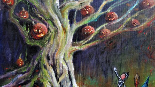 Patricia's Halloween Tree #raybradbury #thehalloweentree
